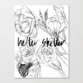 HELTER SKELTER Canvas Print