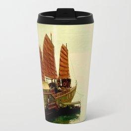 Vietnam Halong Bay Tourism Print Travel Mug