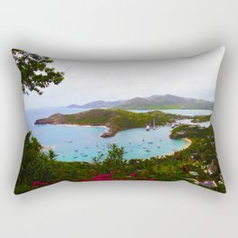 Tropical Getaway Rectangular Pillow