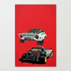 Lancia Stratos Canvas Print