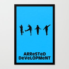Arrested Development Minimal Poster Canvas Print