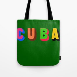 Cuba 2 Tote Bag