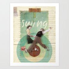Swing Dance Art Print