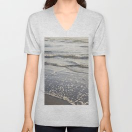 Pacific Waves at Sunset Unisex V-Neck
