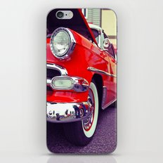 Classic red iPhone & iPod Skin