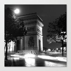 Triumph - Paris Canvas Print