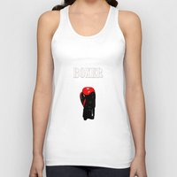 boxer Tank Tops featuring Boxer by Louis Arthur