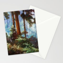 The Forrest Through the Trees Stationery Cards