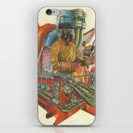 We penetrated deeper and deeper into the heart of darkness iPhone Skin