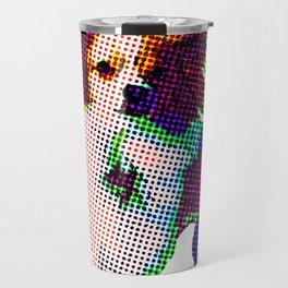 Apollo Dog Purple Travel Mug