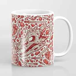 Hoard of the Gem Dragon | Ruby Coffee Mug