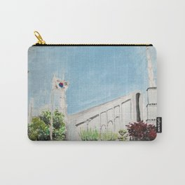Seoul South Korea LDS Temple Carry-All Pouch