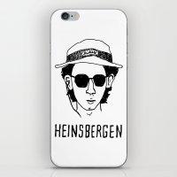 the royal tenenbaums iPhone & iPod Skins featuring Heinsbergen (Royal Tenenbaums/Breaking Bad) by Tabner's