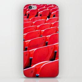 Red Stadium Seats iPhone Skin