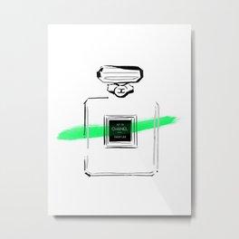 Green perfume #3 Metal Print