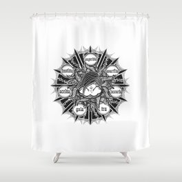 SEVEN Shower Curtain