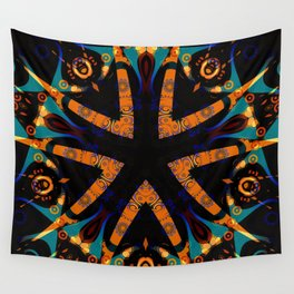 Tribal Geometric Wall Tapestry