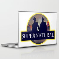 supernatural Laptop & iPad Skins featuring Supernatural  by amirshazrin