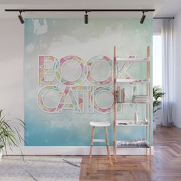 Bookcation Wall Mural