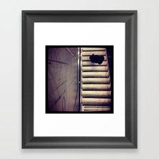 Step Down Framed Art Print