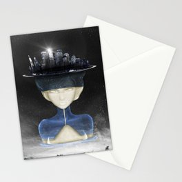 Lady Of the Night Stationery Cards