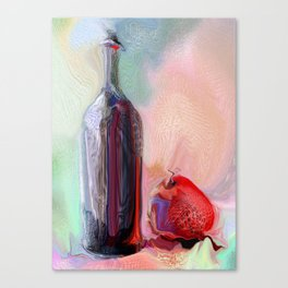 vinegar Canvas Print
