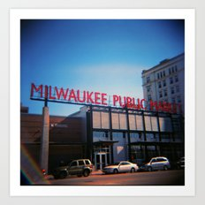 Milwaukee Art Print