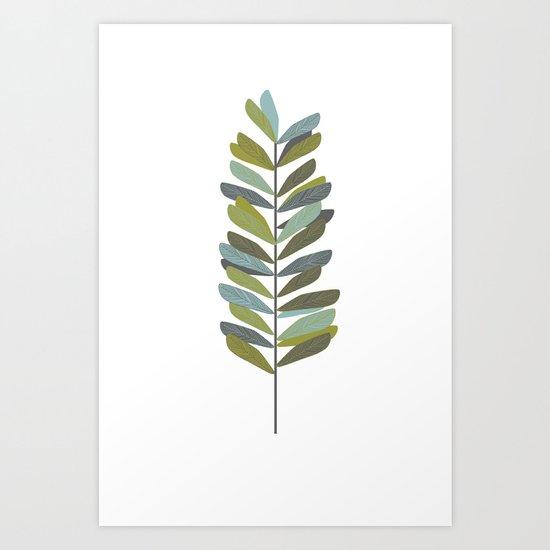 Branch 4 Art Print