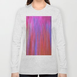 223 - Abstract colour texture design Long Sleeve T-shirt