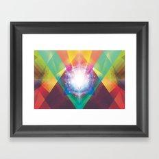 PRYSMIC ORBS II Framed Art Print