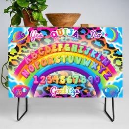 1997 Neon Rainbow Spirit Board Credenza