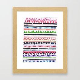 Over Being Under Framed Art Print