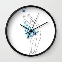 Full of butterflies Wall Clock