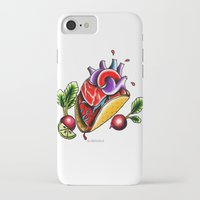 taco iPhone & iPod Cases featuring Taco  by alxbngala