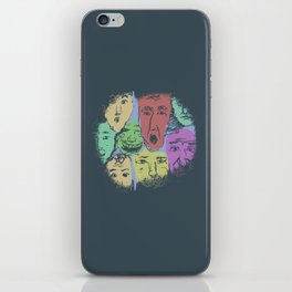 The Different Moods iPhone Skin
