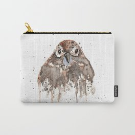Sparrow Staring Through my Window Carry-All Pouch
