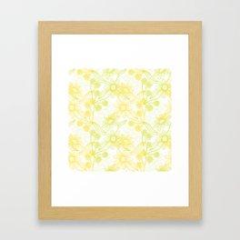 Yellow Camomiles Framed Art Print