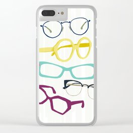 Glasses Clear iPhone Case