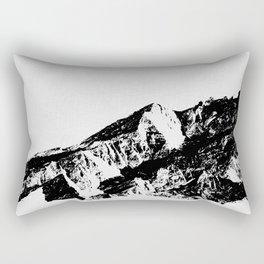 Mountains I Rectangular Pillow