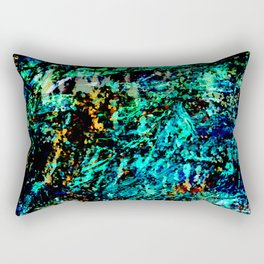 Deep Abyss - Abstract Thoughts Collection Rectangular Pillow