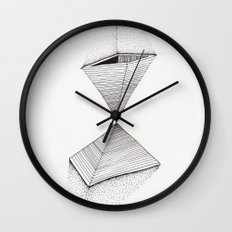 sand pyramids Wall Clock