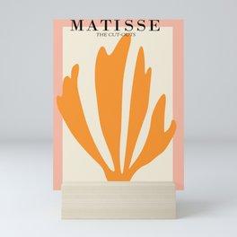 Henri matisse the cut outs contemporary, modern minimal art Mini Art Print