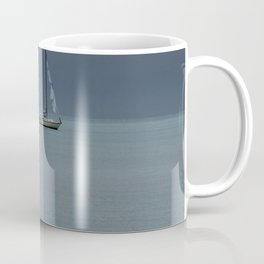 Alone at Sea Coffee Mug