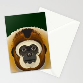 Gibbon Stationery Cards