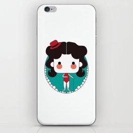 cute girl iPhone Skin