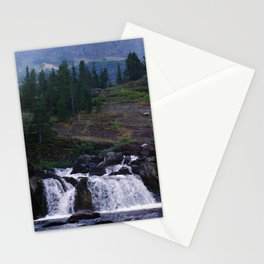 Red Rock Falls Stationery Cards