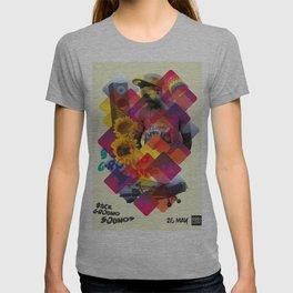 Background Sounds Nightclub Flyer Poster T-shirt