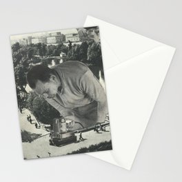 """""""Attention"""" Stationery Cards"""