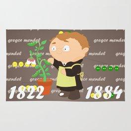 Gregor Mendel Rug