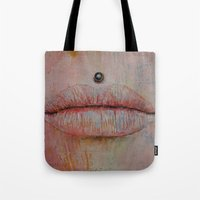 medusa Tote Bags featuring Medusa by Michael Creese